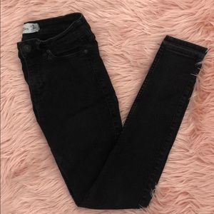 Abercrombie & Fitch Black Skinny Jeans